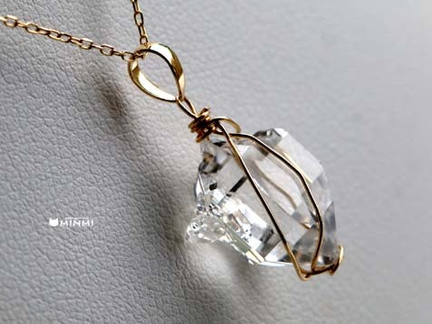 n-herkimer diamond18k-3